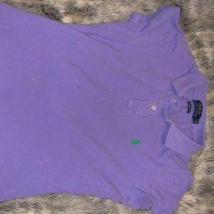 Purple Ralph-Lauren Collar Button up.